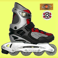 Unique Semi-Soft Boot Inline Skates.(89D712A + 89D722P)