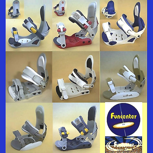 Binding For Snow Board.(Funcenter Bilding Series)