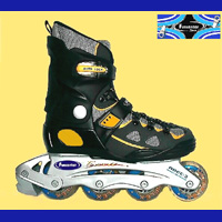 Unique Semi-Soft Boot Inline Skates.(89D2003 Series)