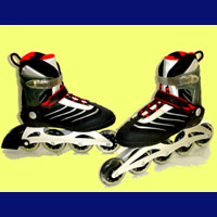 """Speed Runner! Special"" Semi-Soft Boot Aluminium Inline Skates(89R312A + 89R322A Controllable)"